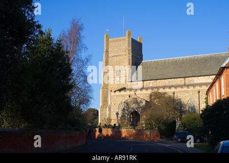 Saint Bartholomew s Church in Orford Suffolk England - Stock Image