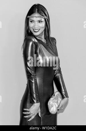 New York, NY - June 03, 2019: Geena Rocero attends 2019 CFDA Fashion Awards at Brooklyn Museum - Stock Image