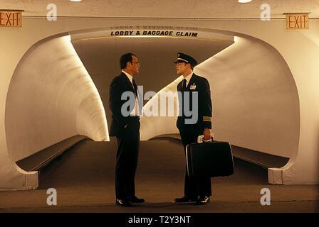 TOM HANKS, LEONARDO DICAPRIO, CATCH ME IF YOU CAN, 2002 - Stock Image