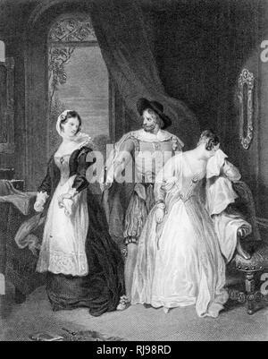Katherine and Bianca - Stock Image