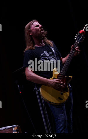 Steve Hill performs at the Montreal Jazz Festival - Stock Image