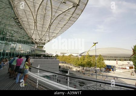 Lisboa Olympic sports arena - Stock Image
