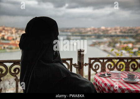 View from Pierloti. Istanbul. Turkey - Stock Image