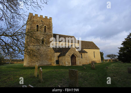 St Luke's Church, Tixover, Rutland - Stock Image