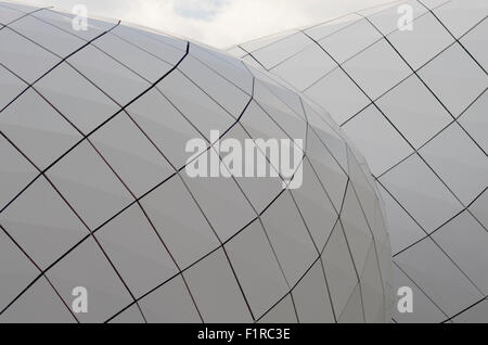 Les Pavillons shopping center, Monte Carlo - Stock Image