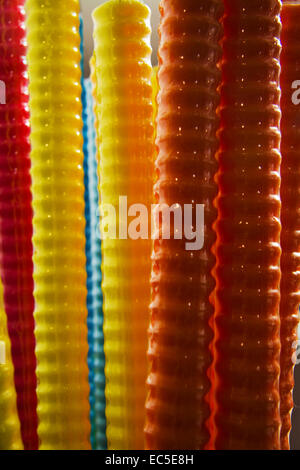 candy canes - Stock Image