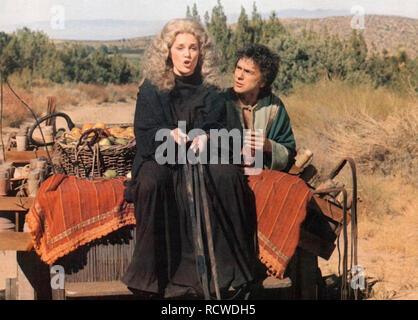 WHOLLY MOSES 1980 Columbia Pictures film with Dudley Moore and Madeline Kahn - Stock Image