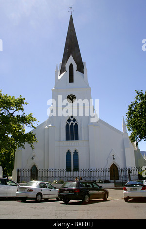Dutch Reformed Church, Stellenbosch, Western Cape Province, South Africa. - Stock Image