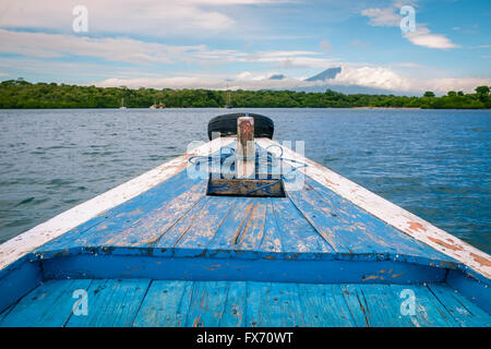 Sailing to the Island in Bali - Stock Image