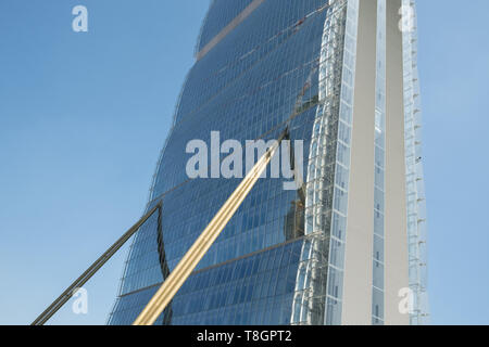 Allianz Tower, Citylife District, Milan, Italy - Stock Image