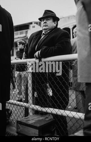 Grand National Horse race, Aintree, Liverpool, England UK. 1985 - Stock Image
