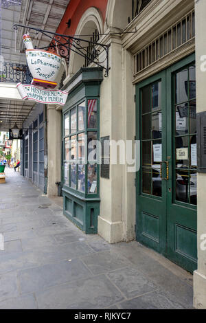 New Orleans Historical Pharmacy Museum, Apothecary, Chartres Street, New Orleans French Quarter, New Orleans, Louisiana, USA - Stock Image