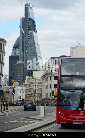 The Cheesgrater building - Stock Image