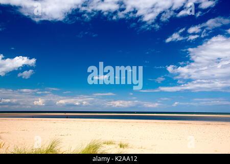 Holkham Beach, Norfolk, UK. - Stock Image