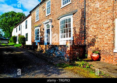 Chapel Row, Sadberge, Borough of Darlington, England - Stock Image