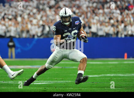 Glendale, AZ, USA. 30th Dec, 2017. Saquon Barkley #26 of Penn State in 1st half action during the Playstation Fiesta - Stock Image