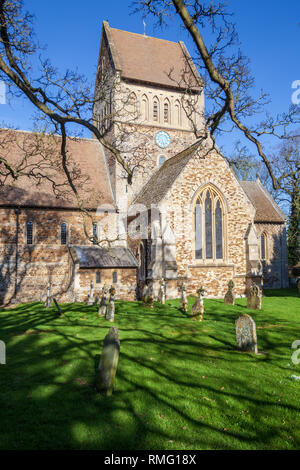 st lawrence church castle rising norfolk - Stock Image