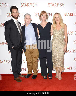 Photo Must Be Credited ©Alpha Press 078237 27/10/2016 Tom Riley, Tom Ray, Nicola Nic Ray and Joanne Froggatt at the UK film premiere of Starfish held at The Curzon Mayfair in London. - Stock Image