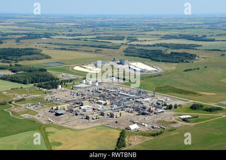 Alta Gas, Harmattan Gas Shantz, Alberta - Stock Image
