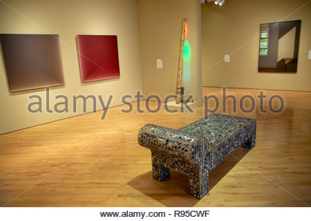 Farnsworth Art Museum, Rockland, Maine - Stock Image