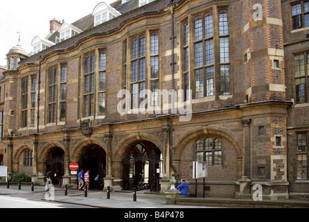 The Museum of Archeology and Anthropology, Cambridge, Cambridgeshire, UK - Stock Image