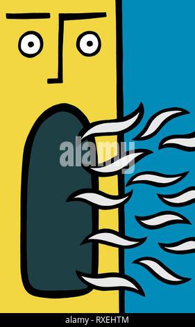 Speak now - Stock Image