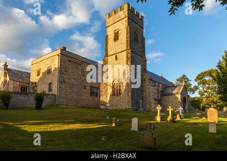 Kingston st Mary's church, Somerset - Stock Image