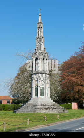 The Sledmere Monument, Sledmere, East Yorkshire, England UK - Stock Image