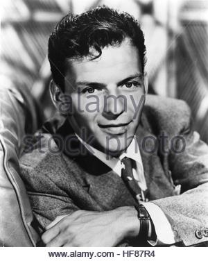 Frank Sinatra circa 1940s. Editorial Use Only. - Stock Image