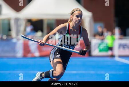 Krefeld, Germany, June 16 2019, hockey, women, FIH Pro League, Germany vs. Australia:  Kira Horn (Germany) looks on. - Stock Image