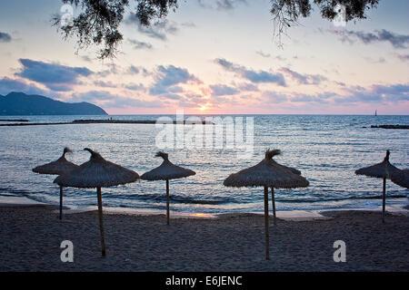 Sunrise in Majorca - Stock Image