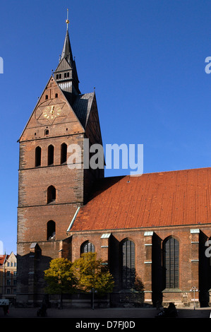 Germany, Hannover, Old Town, market church, Marktkirche - Stock Image