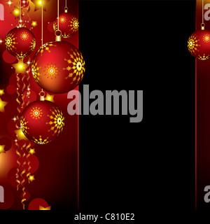 christmas background - Stock Image
