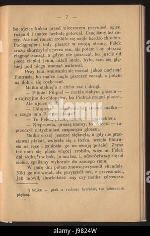 Nasza szkapa (Konopnicka) 13 - Stock Image
