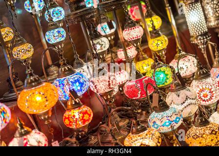 Colorful lanterns - Stock Image