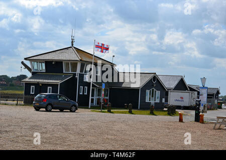 RNLI Lifeboat Station at Southwold, Suffolk, UK - Stock Image
