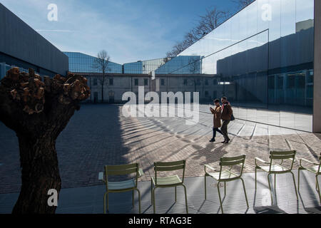 Fondazione Prada, exterior, Milan, Italy - Stock Image