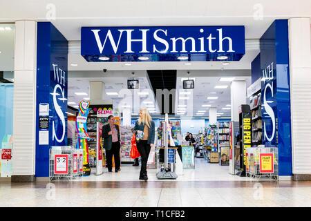 WH Smith store, UK. - Stock Image