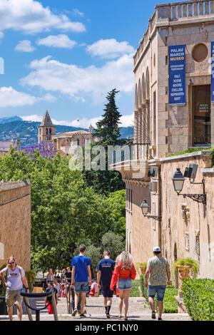 City center in Palma de Mallorca - Stock Image