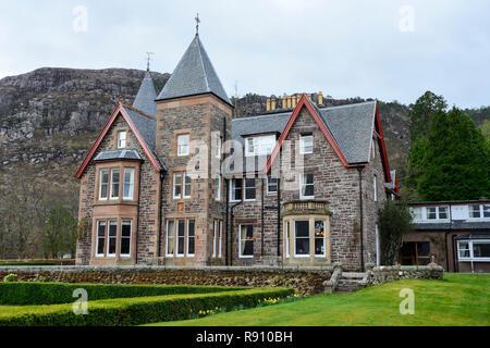 The Torridon Hotel, Applecross Peninsula, Wester Ross, Highland Region, Scotland - Stock Image
