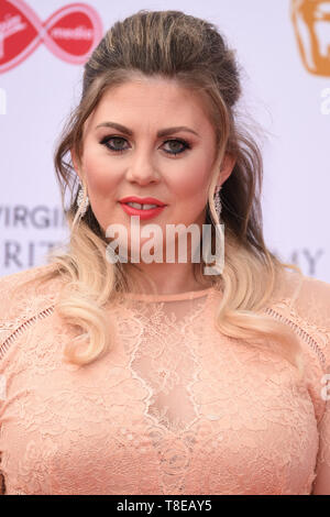 LONDON, UK. May 12, 2019: Louise Pentland arriving for the BAFTA TV Awards 2019 at the Royal Festival Hall, London. Picture: Steve Vas/Featureflash - Stock Image
