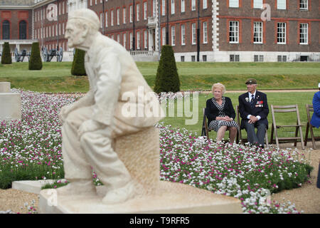 The D-Day 75 Garden at the RHS Chelsea Flower Show at the Royal Hospital Chelsea, London. - Stock Image