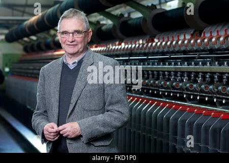 Brian Wilson, Chairman, Shawbost Mill, Isle of Lewis. September 2015 - Stock Image