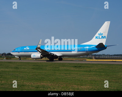 PH-BXF KLM Royal Dutch Airlines Boeing 737-8K2(WL) - cn 29596 4 - Stock Image