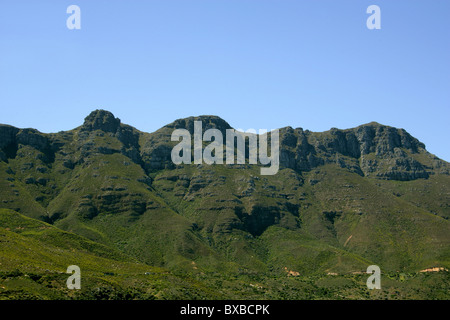 Chapmans Peak Drive, Hout Bay, Western Cape Province, South Africa. - Stock Image