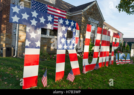 Bellmore, United States. 02nd Nov, 2016. Bellmore, New York, USA. November 2, 2016. Bellmore, New York, USA. November - Stock Image