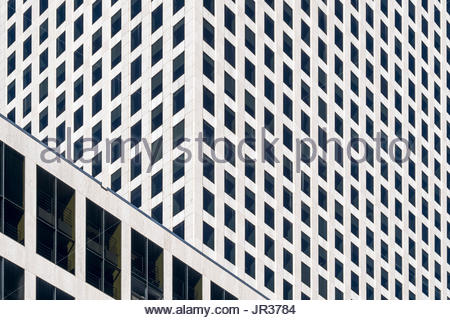 United States, Louisiana, New Orleans. Office building in the Central Business District. - Stock Image