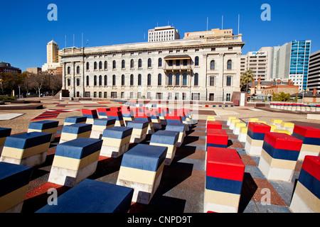 Parliament House Adelaide South Australia - Stock Image