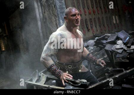 THE MAN WITH THE IRON FISTS, DAVE BAUTISTA, 2012 - Stock Image