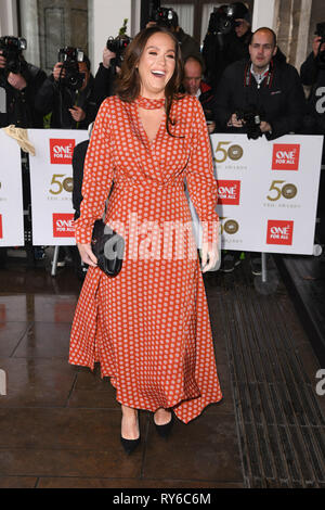 London, UK. 12th Mar, 2019. LONDON, UK. March 12, 2019: Vicky Pattison arriving for the TRIC Awards 2019 at the Grosvenor House Hotel, London. Picture: Steve Vas/Featureflash Credit: Paul Smith/Alamy Live News - Stock Image